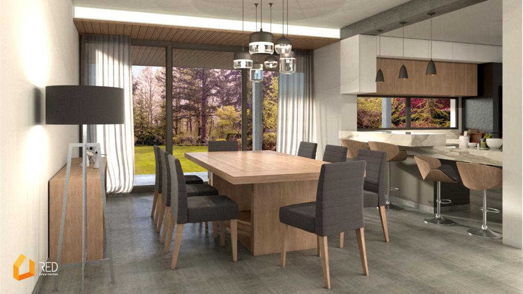 Casa MASP 21-11-2018 - Interior comedor - red arquitectos