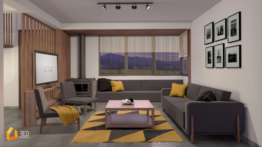 Casa MASP 21-11-2018 - Interior living - red arquitectos