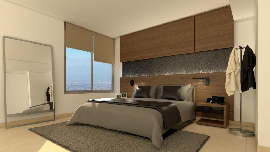 Dormitorio - Salta Tower - red arquitectos